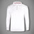 Next 1/3 Zipper Mockneck For Men-White-(SS115)