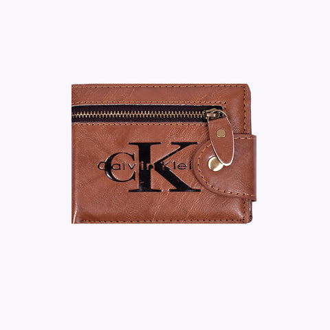 "Men ""CK"" Genuine Leather Wallet-BE290"