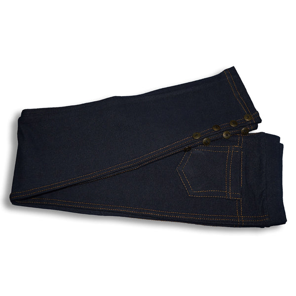"Kid's ""Denim Stylish Tights"" Navy-(D02)"