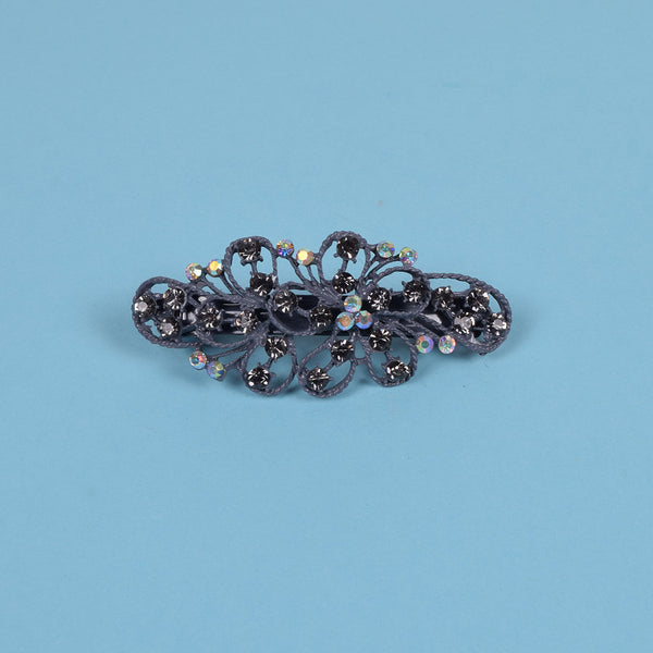 Ladie's Imported Italian Jewelry Stylish Hair Clip - C03