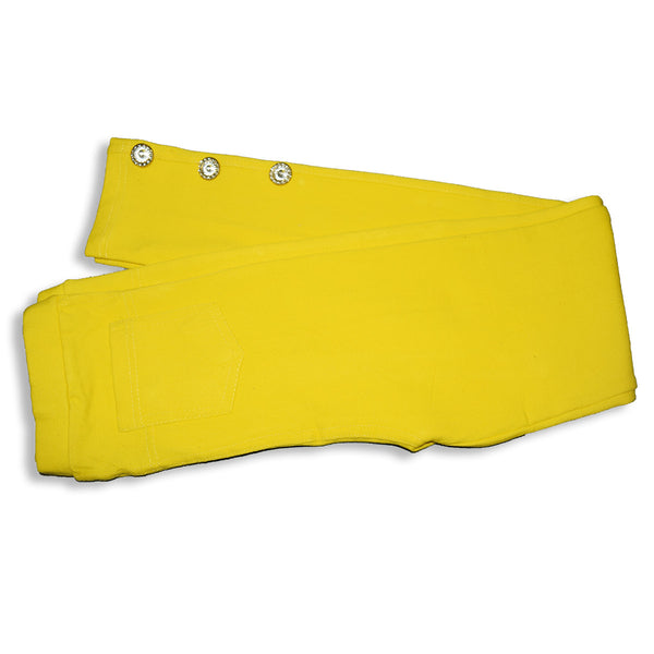 "Kid's ""Denim Stylish Tights"" Yellow-(D03)"