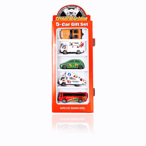 Metal 5-Car Gift Set -TA73