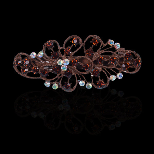 Ladie's Imported Italian Jewelry Stylish Hair Clip - C02