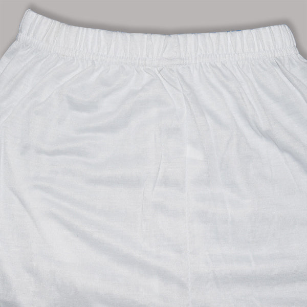 Kid's Jersey Stylish Tights White-(D08)