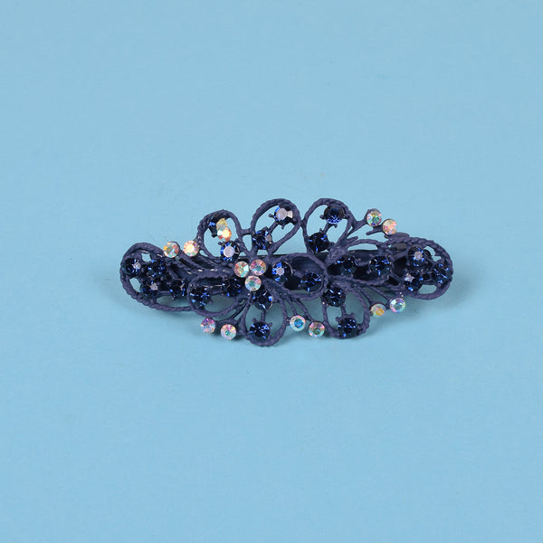 Ladie's Imported Italian Jewelry Stylish Hair Clip - C06