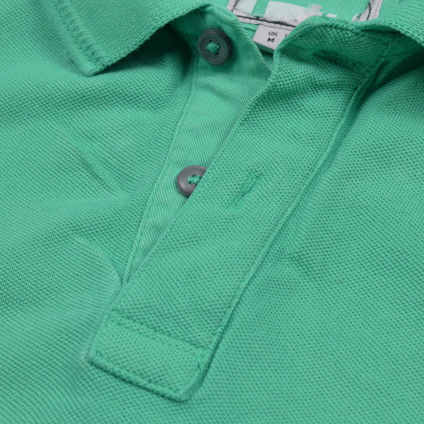 B Quality M&S Polo Shirt For Men-Robin Blue-BE1021
