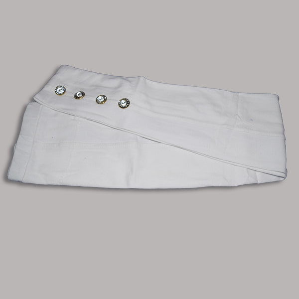 "Kid's ""Denim Stylish Tights"" White-(D09)"