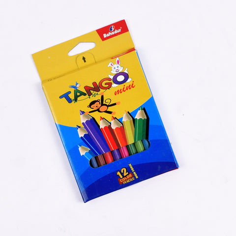 Bahadur 12 Pencil Color Box-TA78
