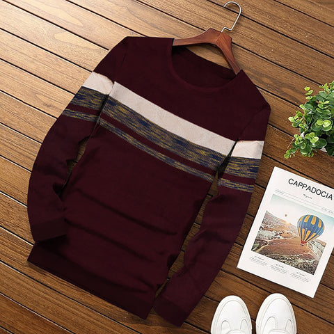 Warmth Sweater WS009 For Men's By BUSHIRT PATLOON