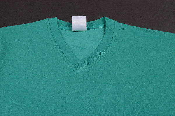 "Men's Cut Label ""Jack & Danny's"" Full Sleeve V Neck Sweat Shirt -Jade-JDSS02"