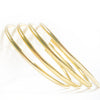Pack Of 4 Fine Metal Golden Bangle-NA9205