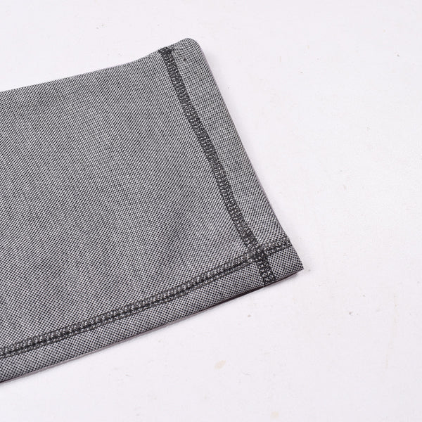 "Men's ""Tom Tailor"" Stylish Gray Melange Ragular Fit Strech Trouser-TTT15"