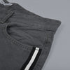 brandsego - Conbipel Slim Fit Non Stretch Side Stripe Denim For Men-(S18)-Grey-NA9403