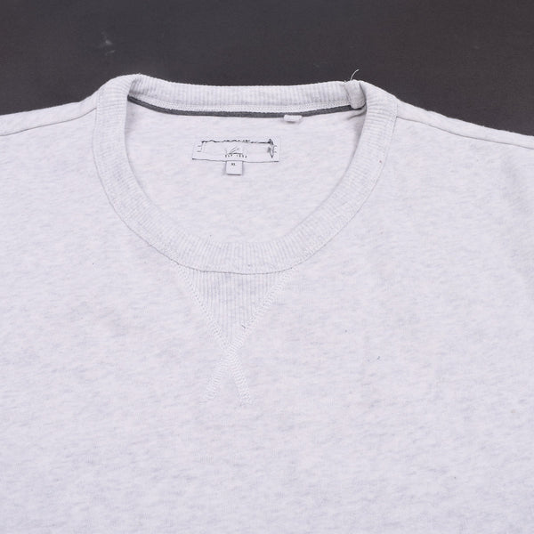 "Exclusive Men's ""NEXT"" Raglan Sleeve Sweat Shirt -Off White-(SS63)"