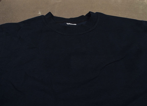 "Men's Cut Label ""Jack & Danny's"" Full Sleeve Crew Neck Sweat Shirt -Dark Navy-JDSS018"