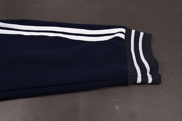 "Men's Cut Label ""Mark & Spancer"" Slim Fit Jogger Fleece-Navy-NT03"