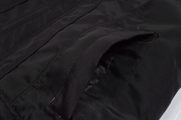 "Men's Exclusive "" Top Fashion "" Water Proof Leather Jacket-Black-FJ06"