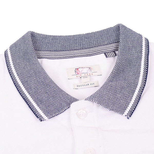 NEXT Polo For Men Cut Label-White-BE2521