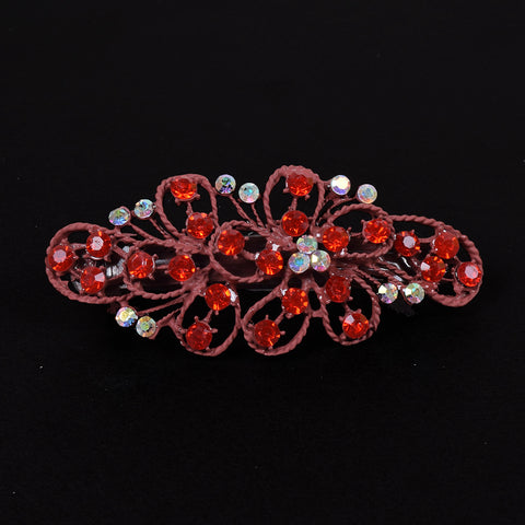 Ladie's Imported Italian Jewelry Stylish Hair Clip - C04