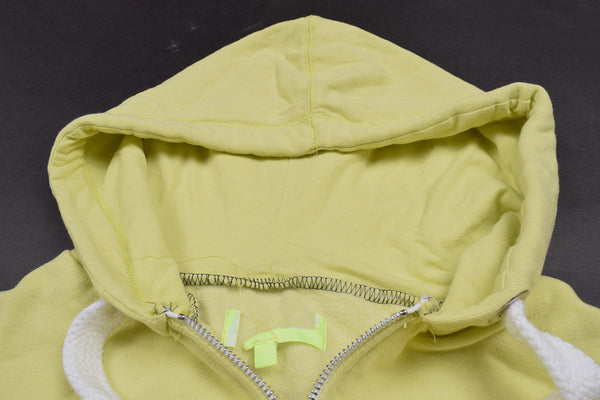 "Mens Cut Label ""B&C"" Zipper Hoodie Fleece-Lime-CLH01"