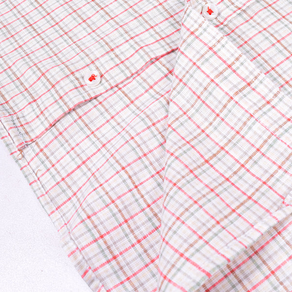Rali Chk Shirt CS048 By BUSHIRT PATLOON