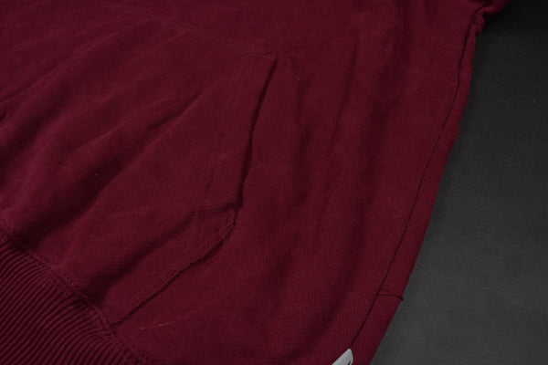 "Mens Cut Label ""K7K"" Pullover Hoodie Fleece -Maroon-CLH16"