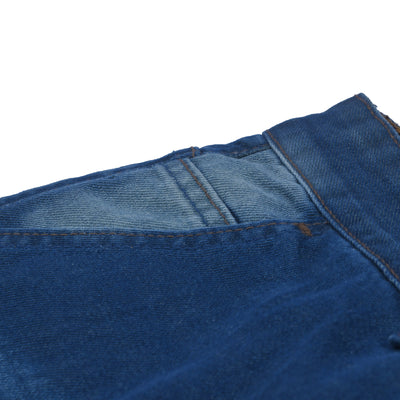 brandsego - Nancy &Denim Slim Fit Non Stretch Denim For Men-Blue Faded & Grinded-NA9469