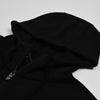 NK Slim Fit Zipper Fleece Track Suit For Men-Black-NA10123