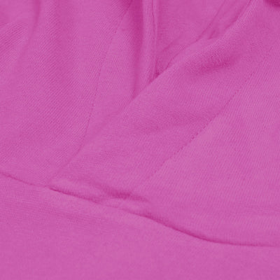 F&F Pullover Fleece Hoodie For Men-Pink-BE6276