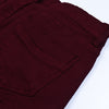 Tiffosi Slim Fit Grinded Style Denim For Boys-Dark Maroon-NA10737