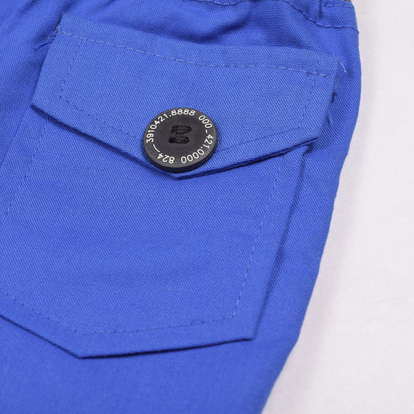 Zara Boys Cargo Short for Kids -Royal Blue-ZKCS48