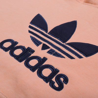 Adidas Fleece Pullover Hoodie For Men-Pale Pink-NA10274