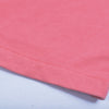 NK Terry Fleece Pink & White Embroidery Short For Men-Pink-BE10751