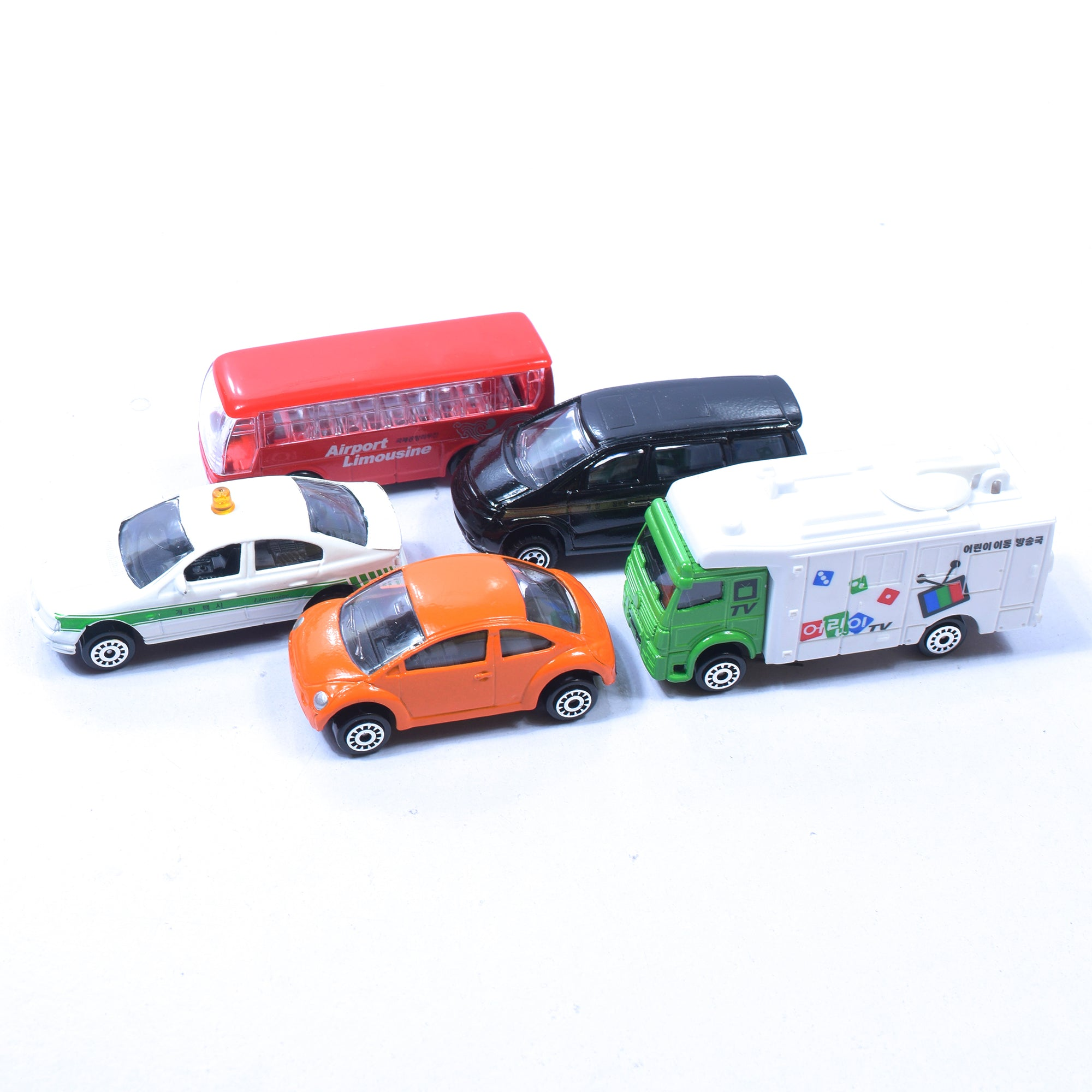 5 Pcs Metal Mini Toy Car Series For Kids-SK007