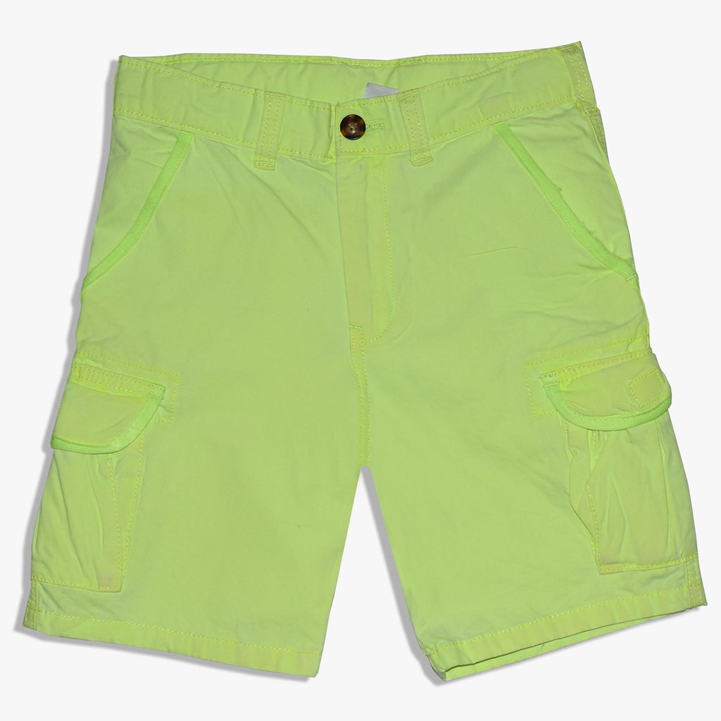 "Kid's ""Carter's"" Cotton 5 Pocket Cargo Short -Parrot - CT09"