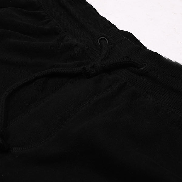 Next Slim Fit Fleece Jogger Trouser For Men-Black-NA378
