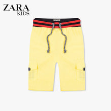 Zara Boys Cargo Short for Kids -Yellow-ZKCS28