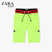 Zara Boys Cargo Short for Kids -Parrot-ZKCS20