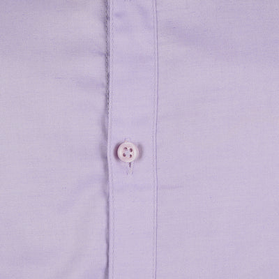 brandsego - Zara Man Long Sleeve Solid Casual Shirt For Men-Light Purple-NA592