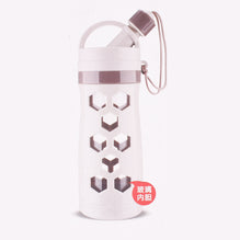 Glass Water Bottle-Off White-WB02