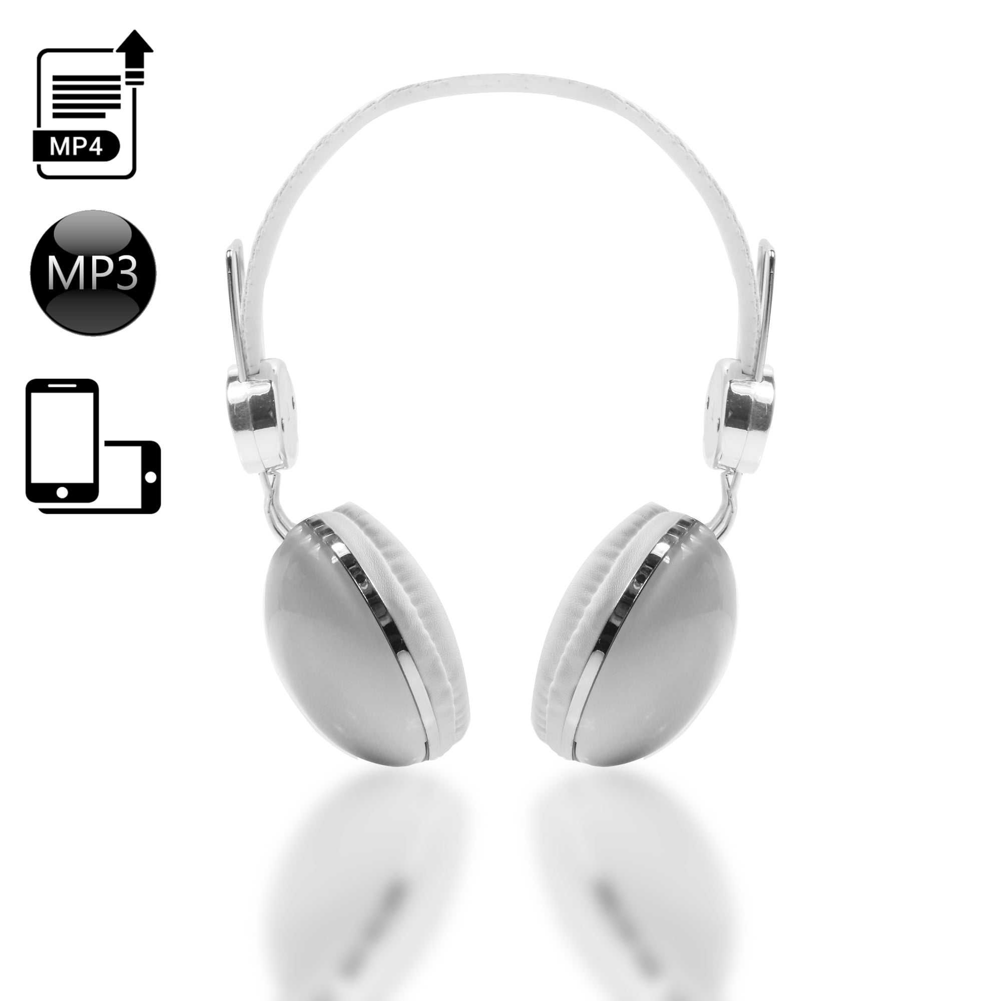 DEA Factory Browniz  Headset with Micro (White)-SK0026
