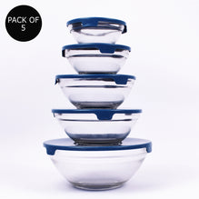 Pack Of 5 Kitchen Glass Bowl-GB01