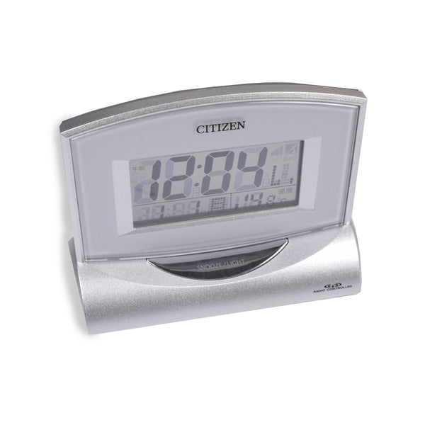 Citizen Transparent Body Table Clock-NA207