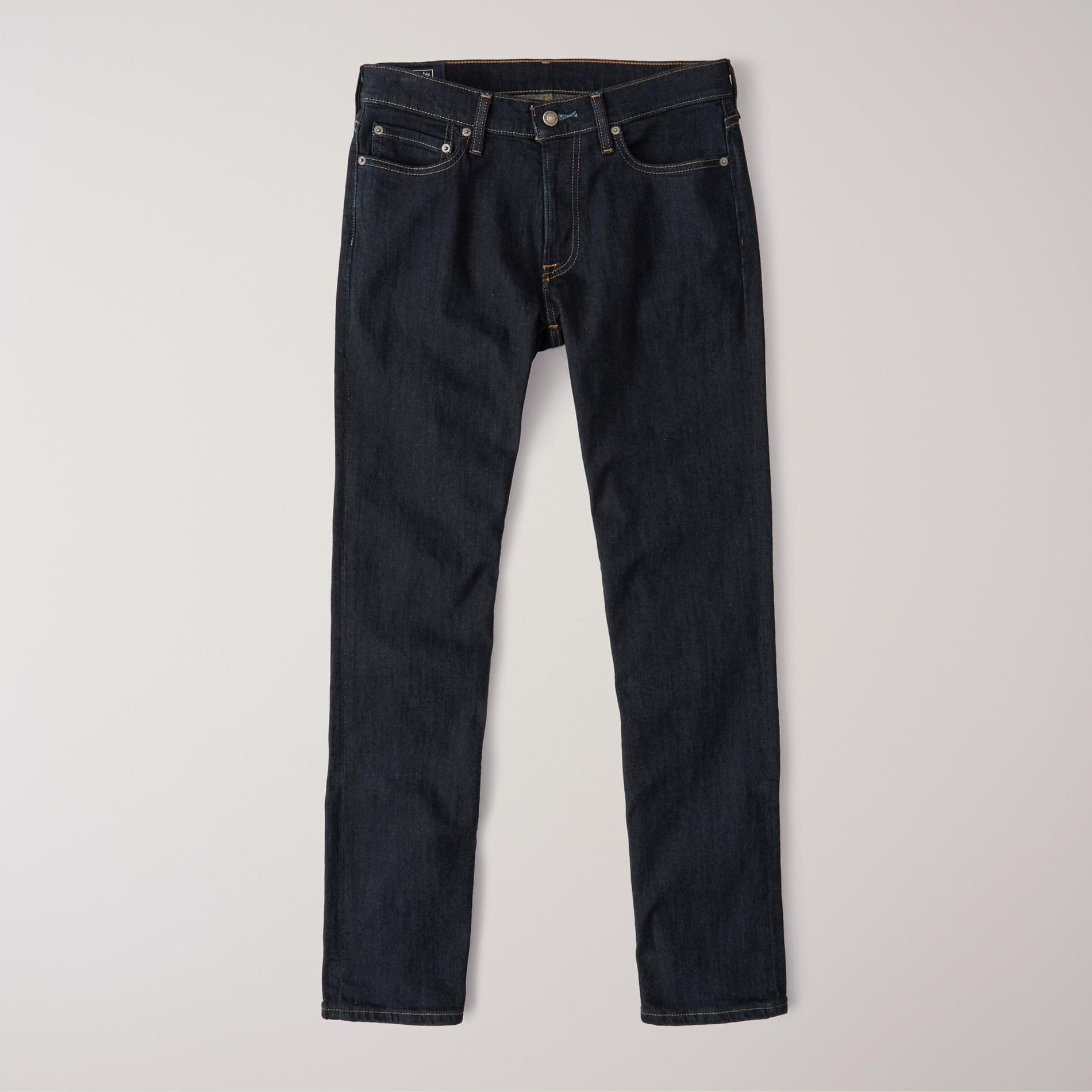 Denim Co Straight Fit Stretch Denim For Men-Dark Navy-NA8771