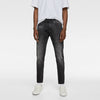 & Denim Slim Fit Stretch Denim For Men-Dark Grey-NA8772