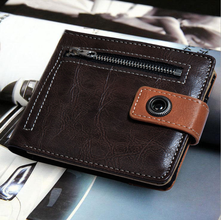Design Collection Leather Wallet For Men-NA8034