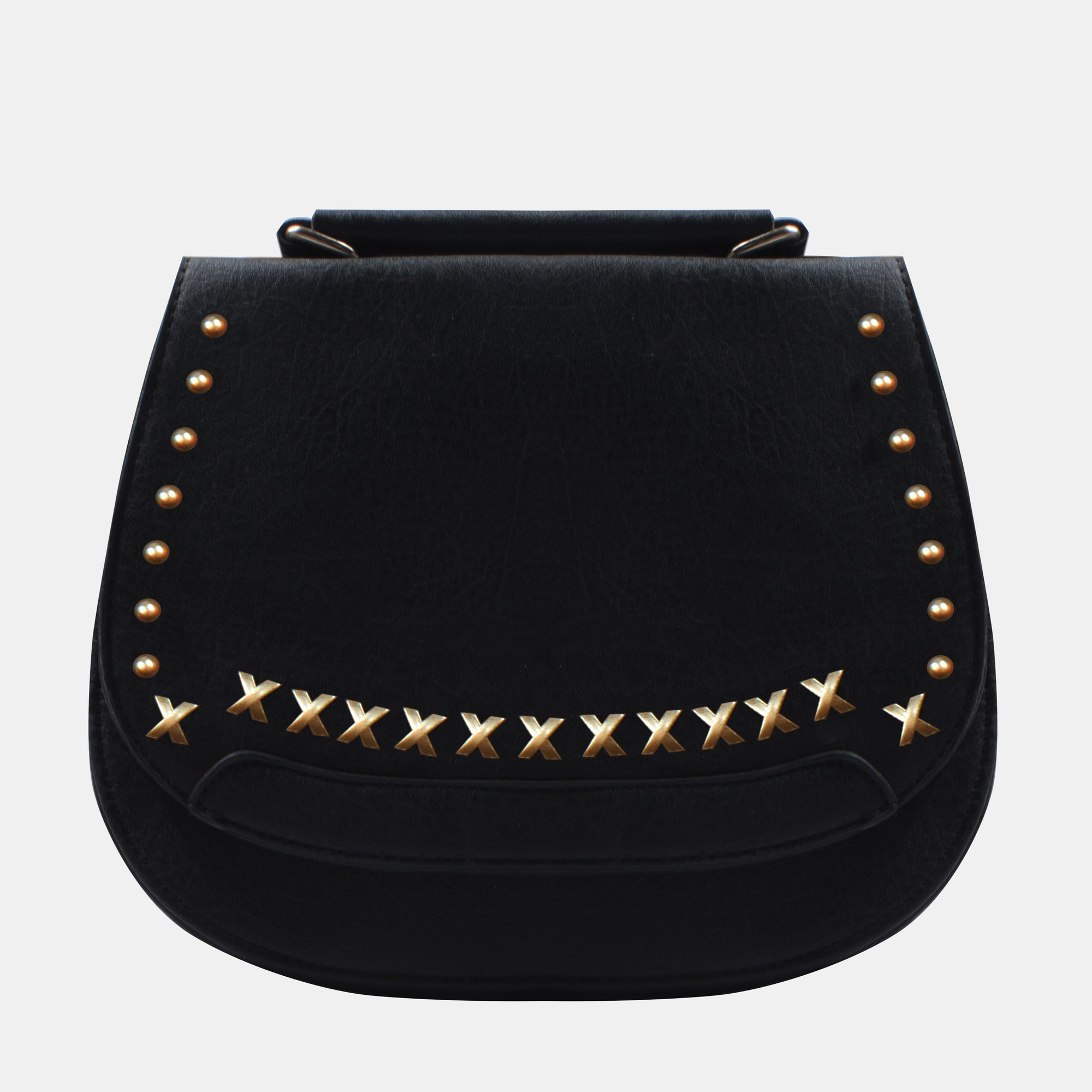 Designer Leather Purse For Women-Black-NA11400