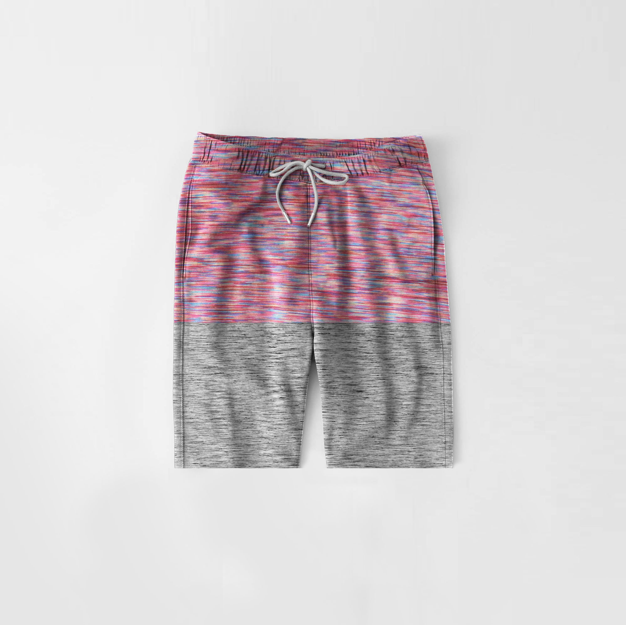 Diesel Summer Short For Kids-Multi Melange With Grey Melange-NA11285