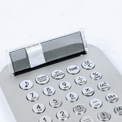 Digital Battery Operated Calculator With World Clock-NA7359