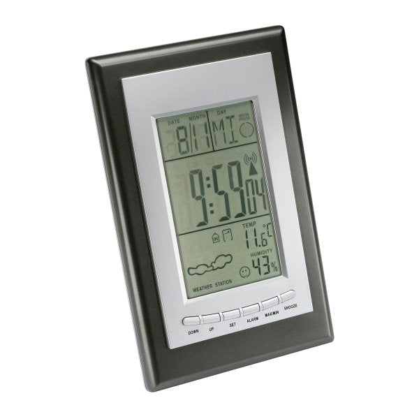 Digital Table Alarm Clock Weather Station-NA8366
